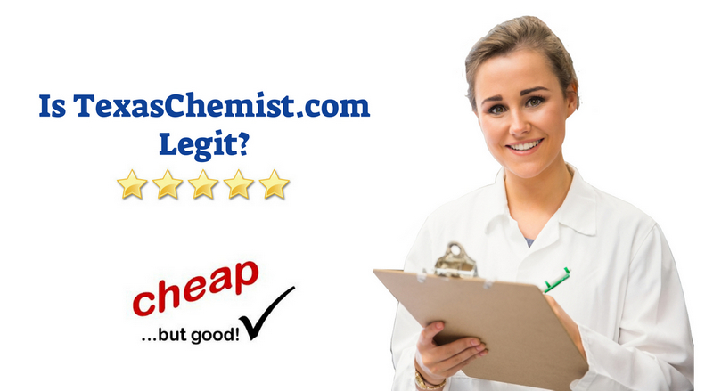 Is Texas Chemist Legit